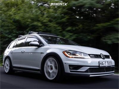 2019 Volkswagen Golf Alltrack - 18x8 45mm - Rotiform Kps - Coilovers - 225/40R18