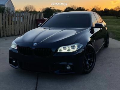 2014 BMW 550i - 19x10 28mm - Konig Ampliform - Lowering Springs - 285/35R19