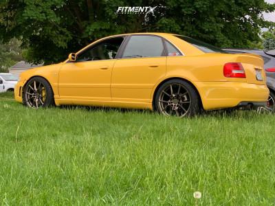 2000 Audi S4 - 18x8.5 32mm - TSW Neptune - Air Suspension - 235/40R18