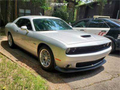 2021 Dodge Challenger - 18x8 15mm - American Racing Vintage VN507 - Lowering Springs - 245/45R18
