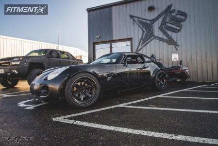 2008 Pontiac Solstice - 18x9.5 10mm - Cosmis Racing XT-006R - Coilovers - 255/40R18