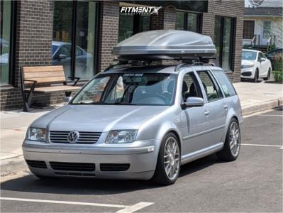2003 Volkswagen Jetta - 18x8 38mm - BBS Rc - Coilovers - 225/40R18