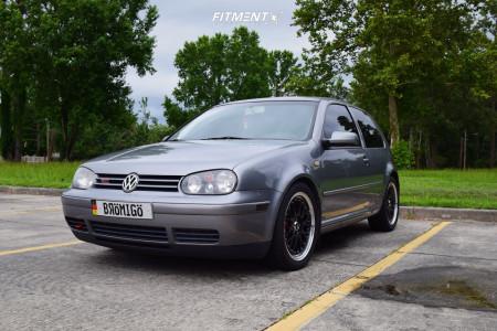 2003 Volkswagen GTI - 17x7 38mm - XXR 521 - Lowering Springs - 225/45R17