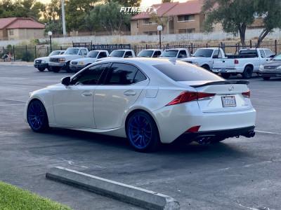2020 Lexus IS300 - 18x8.5 33mm - AVID1 Av20 - Lowering Springs - 225/35R18