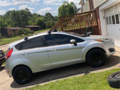 2016 Ford Fiesta - 15x8 27mm - Vision Street Lite - Stock Suspension - 195/65R15
