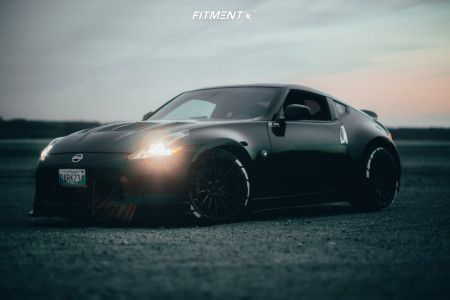 2010 Nissan 370Z - 19x9.5 25mm - WedsSport Sa-15r - Coilovers - 275/35R19