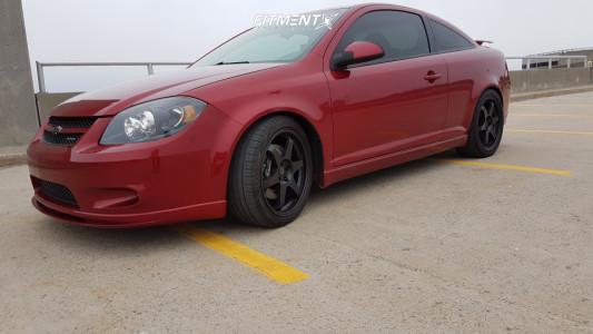 2010 Chevrolet Cobalt - 18x9 35mm - Fast Wheels Hayaku - Lowering Springs - 235/40R18