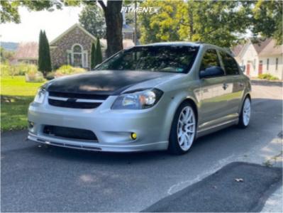 2010 Chevrolet Cobalt - 17x8 35mm - Vors Tr4 - Coilovers - 205/50R17