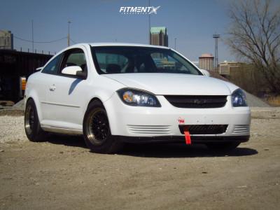 2010 Chevrolet Cobalt - 15x8 25mm - AVID1 Av12 - Coilovers - 195/65R15