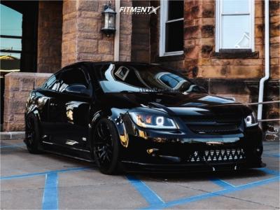 2008 Chevrolet Cobalt - 18x8.5 35mm - Vors Tr4 - Coilovers - 225/40R18