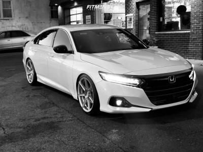 2021 Honda Accord - 20x9 35mm - Ferrada F8-fr7 - Lowering Springs - 245/35R20
