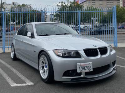 2008 BMW 335i - 17x9 30mm - Apex Arc-8 - Stock Suspension - 235/45R17