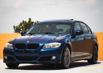 2011 BMW 328i - 18x8.5 35mm - XXR 571 - Stock Suspension - 225/40R18