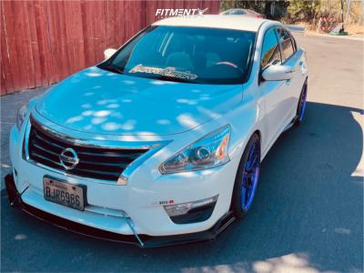 2015 Nissan Altima - 20x9 35mm - XXR 571 - Lowering Springs - 245/30R20