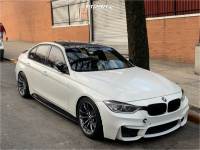 2013 BMW 335i xDrive - 18x9 29mm - BMW 513m - Coilovers - 245/40R18