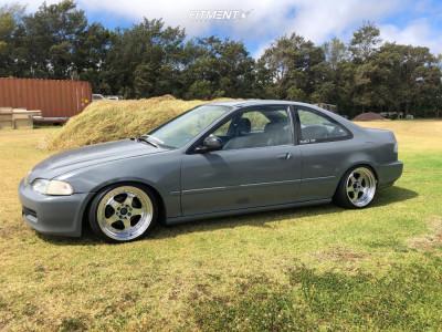 1995 Honda Civic - 16x9 15mm - Jnc Jnc010 - Coilovers - 195/40R16