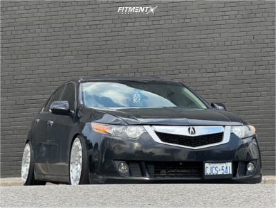 2009 Acura TSX - 18x9.5 35mm - Rotiform Ccv - Coilovers - 215/40R18