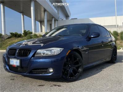 2011 BMW 328i xDrive - 19x8.5 35mm - Fast Wheels Fc04 - Lowering Springs - 225/30R19
