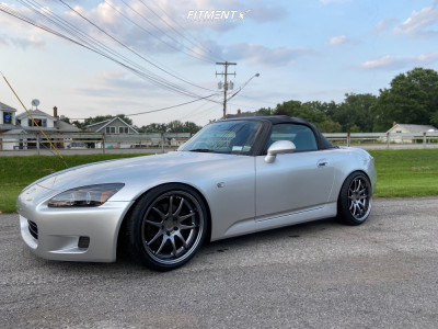 2002 Honda S2000 - 18x9.5 30mm - Aodhan Ds02 - Coilovers - 225/40R18