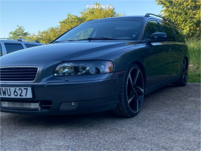 2006 Volvo V70 - 19x8 43mm - Ocean Storm - Coilovers - 225/35R19
