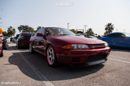 1994 Nissan Skyline - 18x9 24mm - Rays Engineering Nismo - Coilovers - 255/35R18