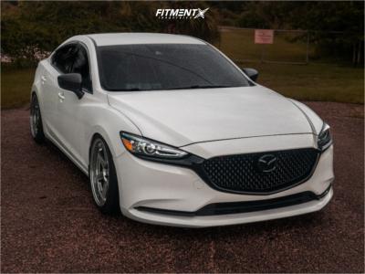 2018 Mazda 6 - 19x9.5 35mm - Vordoven Forme 10 - Coilovers - 235/40R19