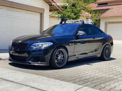 2017 BMW M240i - 18x8.5 35mm - Kansei Corsa - Lowering Springs - 245/35R18