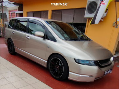 2006 Honda Odyssey - 18x8.5 35mm - Gram Lights 57xtreme Rev Limit - Coilovers - 235/45R18