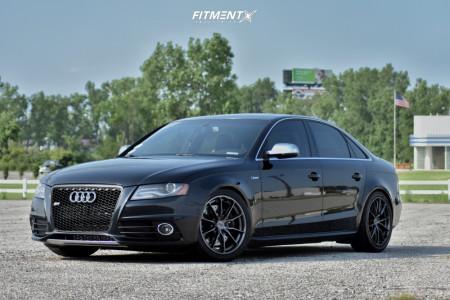 2010 Audi S4 - 18x8 42mm - Niche Rainier - Coilovers - 245/40R18