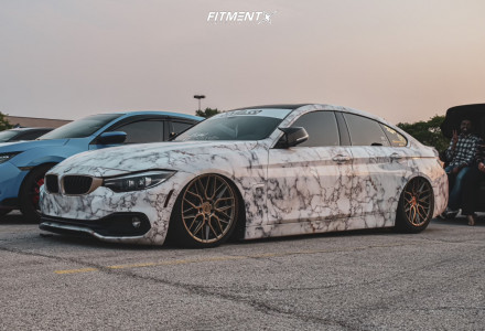 2019 BMW 440i xDrive Gran Coupe - 19x9.5 40mm - Niche Gamma - Air Suspension - 245/45R19