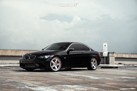 2007 BMW 335i - 19x9 30mm - HRE C105 - Lowering Springs - 245/35R19