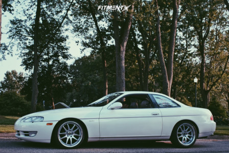 1991 Toyota Soarer - 18x8.5 30mm - Aodhan Ds02 - Coilovers - 215/45R18