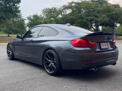 2014 BMW 435i xDrive - 19x9.5 35mm - ESR Rf2 - Coilovers - 255/35R19