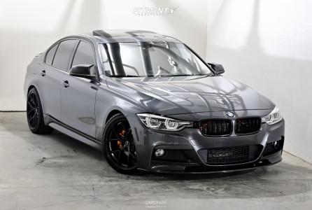 2013 BMW 320i xDrive - 19x8.5 35mm - Superspeed Rf05rr - Lowering Springs - 225/40R19