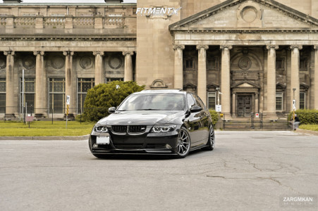 2007 BMW 335xi - 18x8.5 38mm - Superspeed Rf03rr - Coilovers - 225/40R18