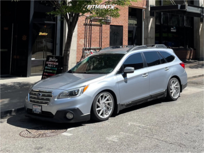 2015 Subaru Outback - 18x9 35mm - F1R F29 - Coilovers - 235/40R18