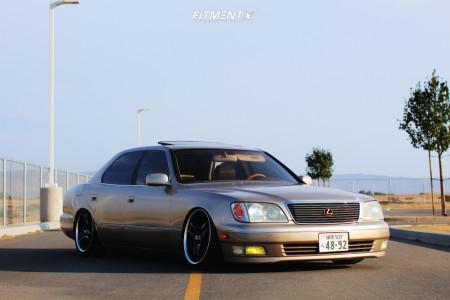 2000 Lexus LS400 - 19x8 22mm - Racing Hart S3 Pro - Coilovers - 215/35R19