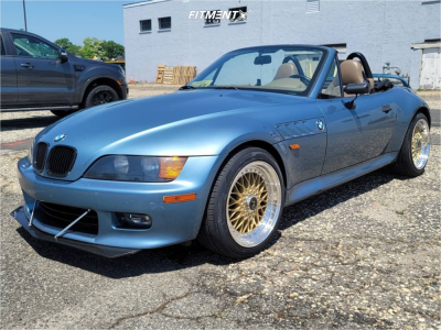 1998 BMW Z3 - 17x8.5 15mm - Jnc Jnc004 - Stock Suspension - 215/45R17