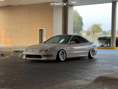 1998 Acura Integra - 15x8 0mm - XXR 531 - Coilovers - 195/45R15