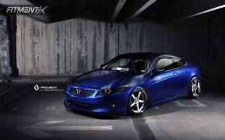 2009 Honda Accord - 20x9 18mm - K3 Projekt Projekt 1 - Lowered Adj Coil Overs - 235/30R20