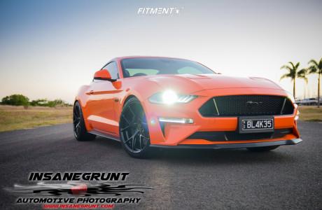 2019 Ford Mustang - 20x10 35mm - Koya SF10 - Lowering Springs - 265/35R20