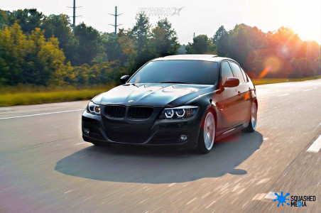 2011 BMW 328i - 18x8.5 38mm - F1R F29 - Coilovers - 215/35R18