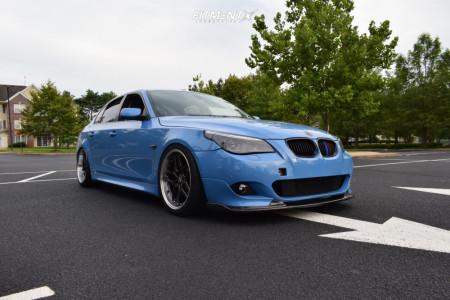 2008 BMW 550i - 19x10.5 35mm - ESR Cs15 - Coilovers - 275/30R19