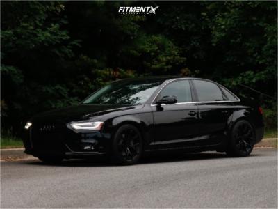2013 Audi A4 Quattro - 18x9 30mm - APR A01 - Coilovers - 245/40R18