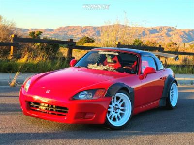 2001 Honda S2000 - 18x9.5 10mm - Cosmis Racing Xt-206r - Coilovers - 255/35R18