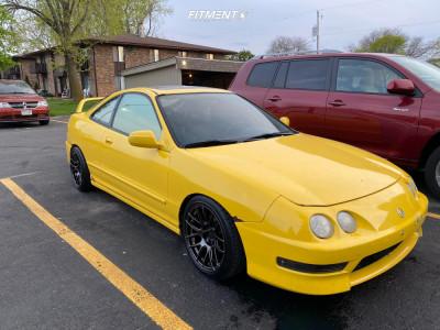 1999 Acura Integra - 16x8 20mm - XXR 530 - Coilovers - 205/40R16