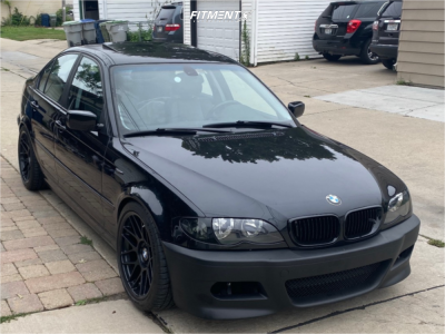 2002 BMW 330xi - 18x9 30mm - Apex Arc-8 - Coilovers - 255/35R18