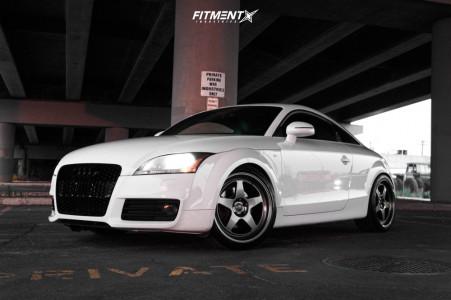 2009 Audi TT - 19x9.5 35mm - Kansei Knp - Coilovers - 255/35R19