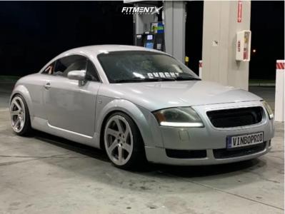 2000 Audi TT - 18x8.5 35mm - 3SDM 0.06 - Coilovers - 215/35R18