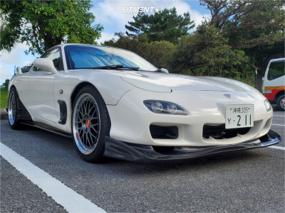 1995 Mazda RX-7 - 18x8 35mm - BBS Lm - Coilovers - 235/40R18